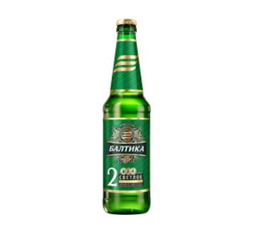 Baltika beer pale