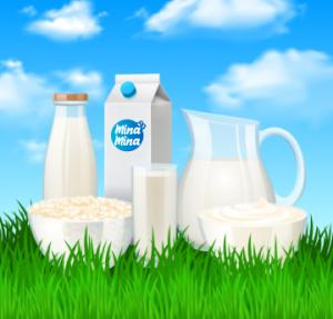 Belgium milk minamina