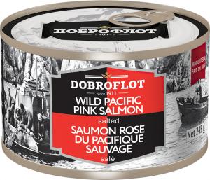 Dobroflot natural pink salmon